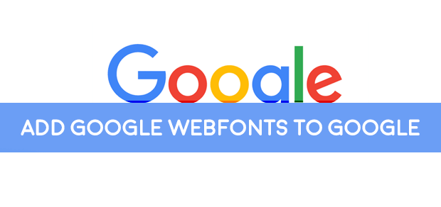 How to add Google webfonts to wordpress blogs