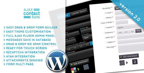 Wordpress Ajax Contact Form