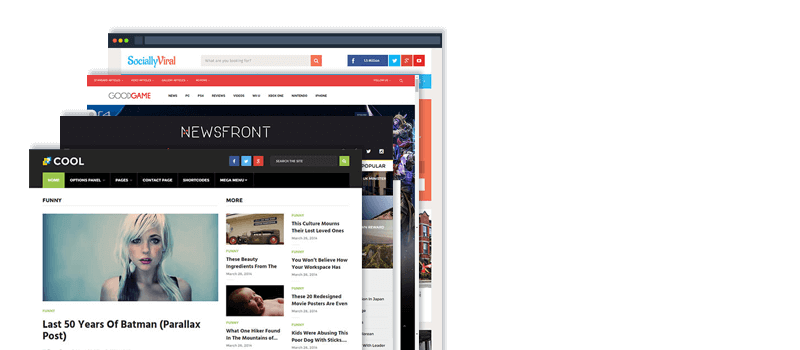 Best wordpress magazine themes for 2017. Latest collection