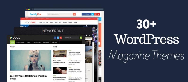 best wordpress magazine themes