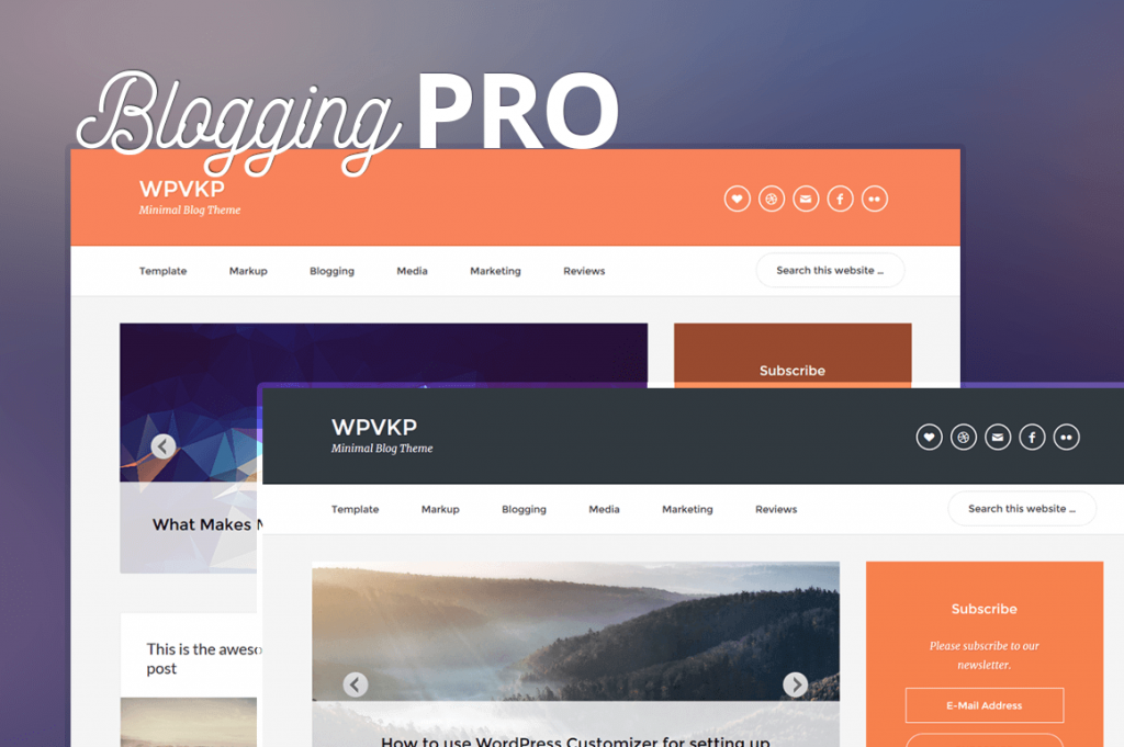blogging pro genesis child theme