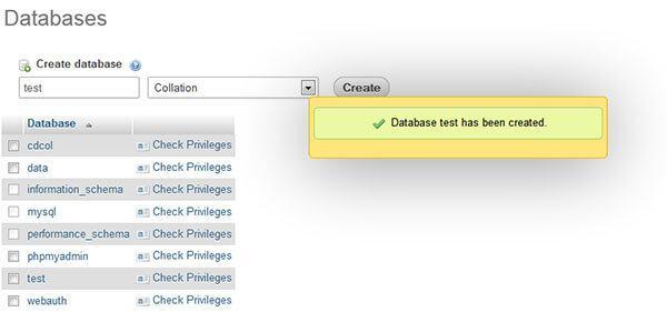 database-created