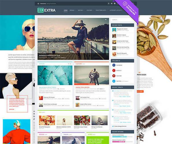 extra template by elegantthemes