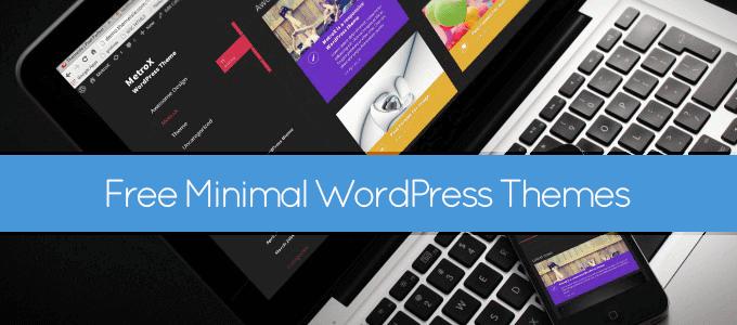 free-minimal-wordpress-themes