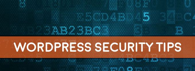 important wordpress security tips
