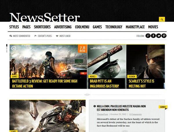 newsetter-theme