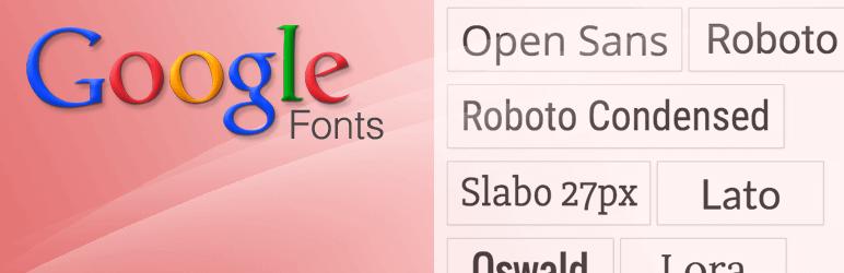 wp google webfont plugin