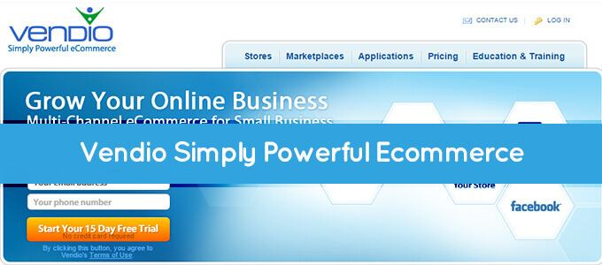 vendio simply powerful ecommerce solution