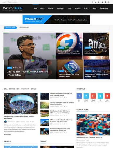 worldnews a robust magazine style theme