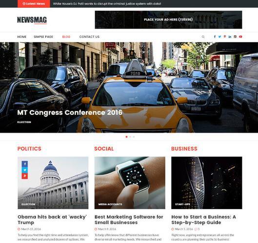 newsmag pro theme