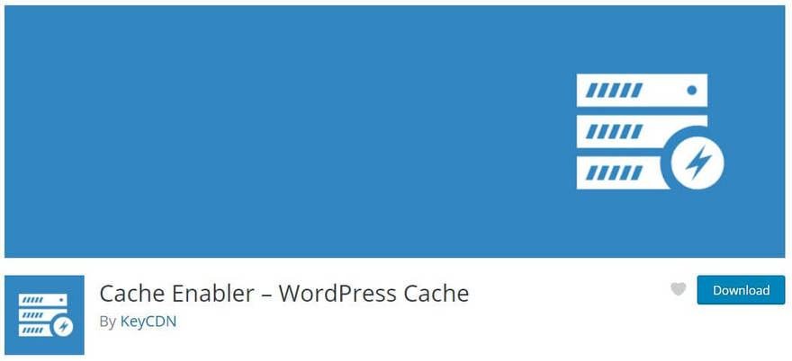 Cache enabler plugin for wordpress