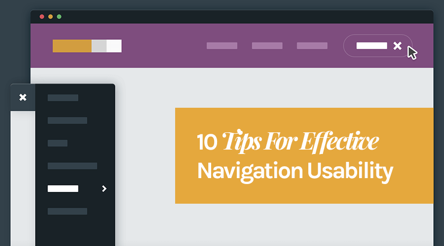 tips for better navigation usability