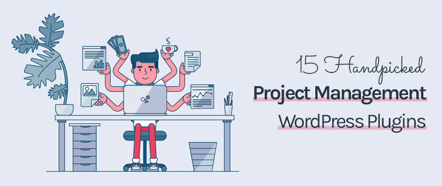 handpicked project management wordpress plugins