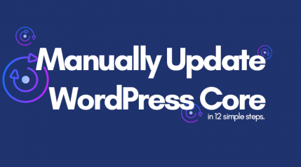 How to Manually Update WordPress – An Indepth Guide