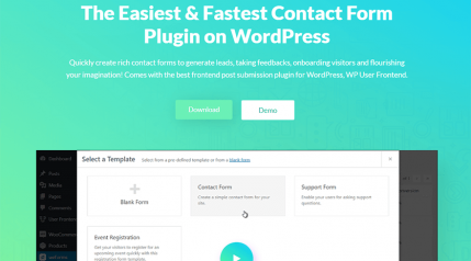 weForms Review – The Fastest Contact Form Plugin for WordPress