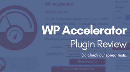 WordPress And WooCommerce Accelerator Plugin Review
