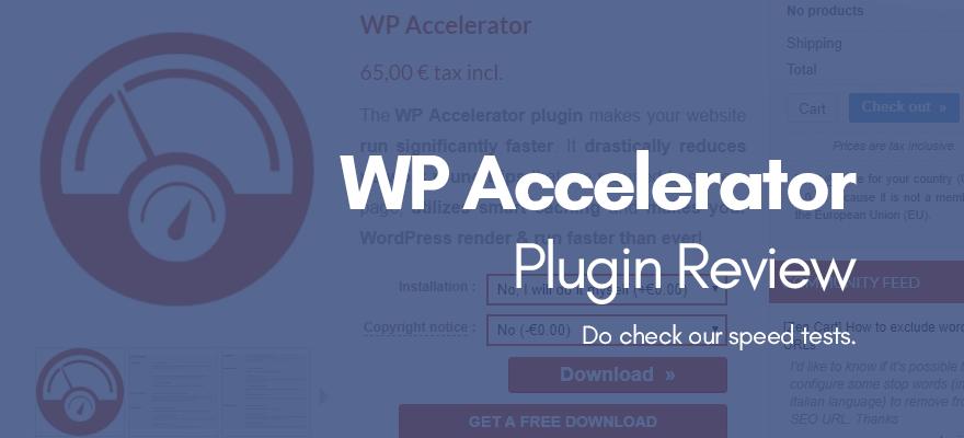 WordPress And WooCommerce Accelerator Plugin Review WPVKP