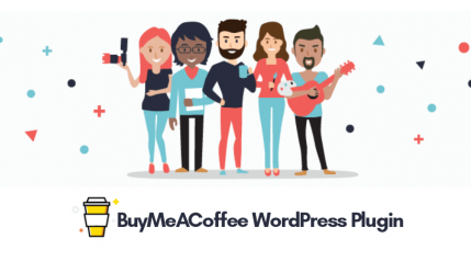 Add Beautiful Donate Button With BuyMeACoffee WordPress Plugin