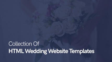 Top 20 Collection Of HTML Wedding Website Templates