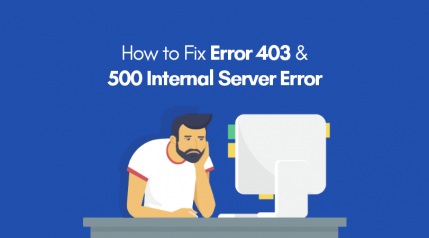 How to fix Error 403 and 500 Internal Server Error in WordPress